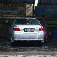 Photo taken at Suranta Jaya Car Wash by Risa R. on 8/2/2012