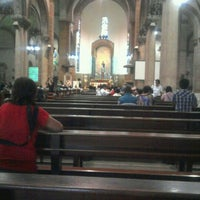 Photo taken at Cathedral-Basilica of the Immaculate Conception of Manila (Manila Cathedral) by Mons M. on 12/8/2011