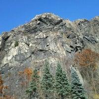 Photo taken at Breakneck Ridge by Nick B. on 11/12/2011