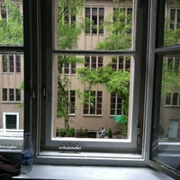 Photo taken at PLUS Berlin Hostel and Hotel by Rld_ G. on 5/3/2012
