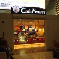 Photo taken at Café France by Leigh Aldrich V. on 5/11/2012