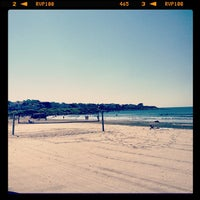 Photo taken at Easton's Beach by Rob on 7/8/2012