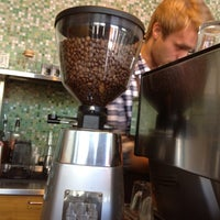 Photo taken at Java Espressobar & Kaffeforretning by Jørgen E. on 8/10/2012