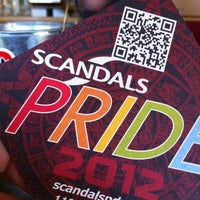 Photo taken at Scandals by Adam S. on 7/14/2012