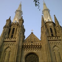 Photo taken at Gereja Katolik Katedral Jakarta by andreibay_ on 8/25/2012