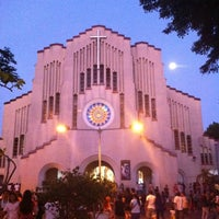 Photo taken at National Shrine of Our Mother of Perpetual Help by Katherine Chloe D. on 4/5/2012