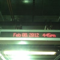 Photo taken at SEPTA MFL 34th Street Station by Geraldine F. on 2/8/2012