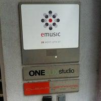 Photo taken at eMusic by Ben N. on 5/25/2012