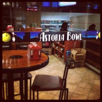 Photo taken at Astoria Bowl by Diego B. on 6/2/2012