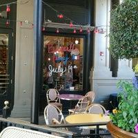Photo taken at Left Bank Brasserie by Irene L. on 7/15/2012