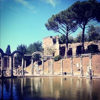 Photo taken at Villa Adriana by Fabio L. on 7/22/2012