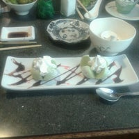 Photo taken at Ninja Japanese Steakhouse & Sushi by Lizz D. on 7/11/2012