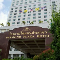 Photo taken at Diamond Plaza Hotel by wanna r. on 5/23/2012