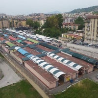Photo taken at Mercato Di Fuorigrotta by Francesco C. on 5/20/2012