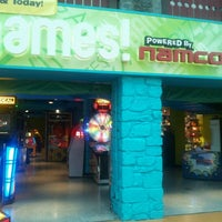 Photo taken at Namco® Arcade & Midway by Kendall B. on 10/26/2011