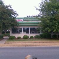 Photo taken at Krispy Kreme Doughnuts by Brian P. on 9/20/2011