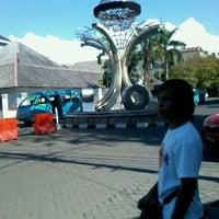 Photo taken at Zero Point of Manado by Joshua T. on 5/12/2012