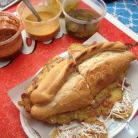 Photo taken at Tortas Perronas by Queso B. on 3/15/2012