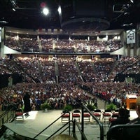 Photo taken at Reed Arena by Brian A. on 4/22/2012