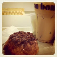 Photo taken at Au Bon Pain by Yook L. on 6/27/2011