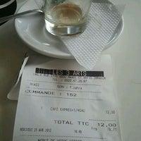 Photo taken at Cafe Les 3 Arts by Badr C. on 4/25/2012