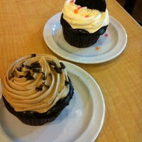 Photo taken at Molly's Cupcakes by Mark M. on 5/3/2012