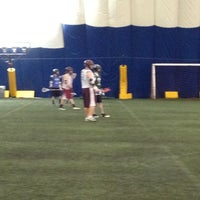 Photo taken at Sports Dome by Jennifer H. on 1/5/2012