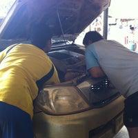 Photo taken at สมชาย ไดนาโม | ทองผาภูมิ by Vas K. on 8/16/2011