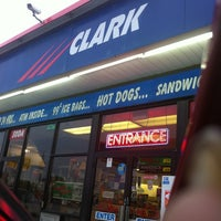 Photo taken at Clark Gas Station by Jackie C. on 10/26/2011