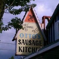Photo taken at Otto's Sausage Kitchen by Angie on 8/29/2011