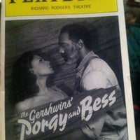 Photo taken at Porgy & Bess on Broadway by Katie F. on 4/24/2012