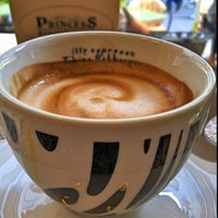 Photo taken at Princess coffee&cakes by Imhotep_zg on 9/3/2012