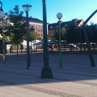 Photo taken at Gustav Adolfs torg by Fredrik K. on 7/21/2012