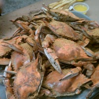 Photo taken at May's Crab & Seafood by Brooke A. on 9/15/2011