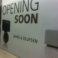 Photo taken at Bang & Olufsen by Addeq S. on 9/21/2011