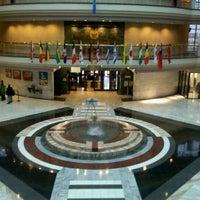 Photo taken at Atlanta City Hall by Whitney C. on 11/16/2011