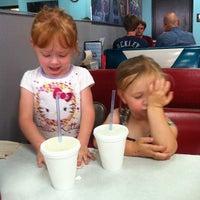 Photo taken at Hwy 55 Burgers Shakes & Fries by Amanda H. on 5/2/2012