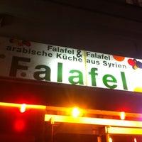 Photo taken at Falafel in Berlin by Rainer K. on 10/28/2011