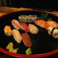 Photo taken at Tsuru Sushi all'Osteria by Victor D. on 2/17/2012