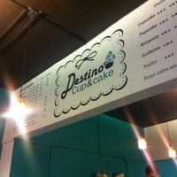 Photo taken at Destino Cupcakery by Tannia V. on 6/30/2012