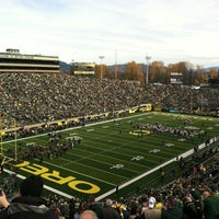 Photo taken at Autzen Stadium by Dean H. on 11/26/2011