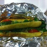 Photo taken at Dog Days Chicago Hotdogs by Glen W. on 10/6/2011