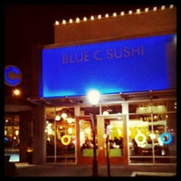 Photo taken at Blue C Sushi by Kate K. on 3/11/2011
