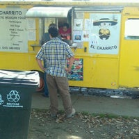 Photo taken at El Charrito Taco Truck by Tyrone M. on 10/11/2011