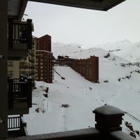 Photo taken at Valle Nevado by Renan P. on 9/6/2012