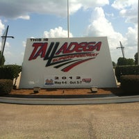 Photo taken at Talladega Superspeedway Allison Grandstands by Scott B. on 7/24/2012