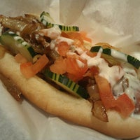 Photo taken at Jerry's Wood-Fired Dogs by ginger k. on 12/23/2011