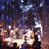 Photo taken at Passeig del Born by Toni S. on 9/18/2011