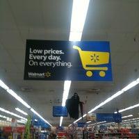 Photo taken at Walmart by Kelvin M. on 10/16/2011