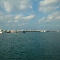 Photo taken at 모슬포항 by Ji-Hye J. on 11/12/2011